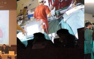 Live surgery using Evone for ventilation: demonstration for more than 150 Spanish specialists