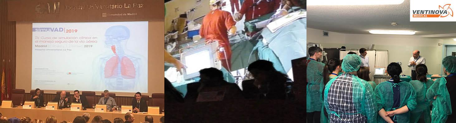 Live surgery using Evone for ventilation: demonstration for