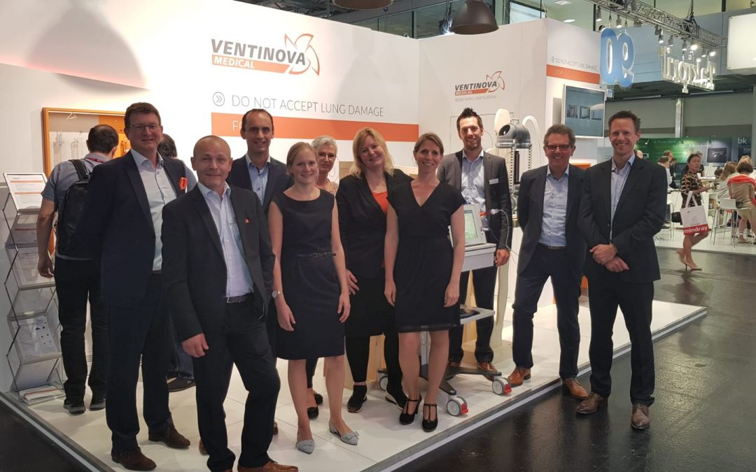 Ventinova Medical at Euroanaesthesia 2019